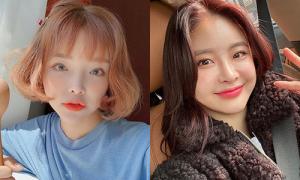Tóc xoăn chữ C - L - S cho từng độ dài của hot girl Hàn