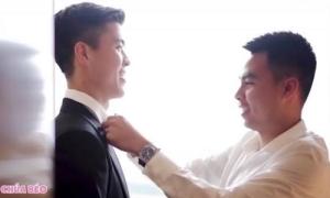 Đức Huy 'kể công' đám cưới, chúc mừng bá đạo Duy Mạnh