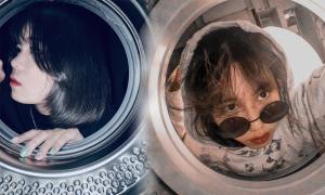 Trào lưu chụp ảnh trong máy giặt khiến giới trẻ thích mê