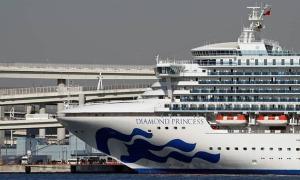 Thêm 44 người dương tính nCoV trên du thuyền Nhật Bản