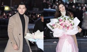 Hyun Bin và Son Ye Jin mặc 'đồ đôi' tại tiệc đóng máy