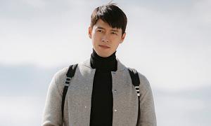 Style áo cổ lọ của Hyun Bin trong 'Hạ cánh nơi anh'