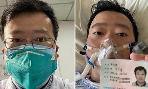 Gia đình có bác sĩ chết vì nCoV nhận 5.000 tệ 'tiền an ủi'