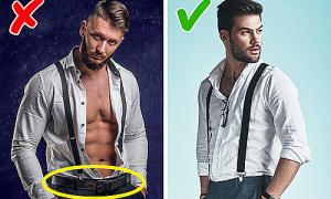 Quy tắc lựa chọn trang phục cho con trai (2)