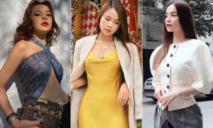 Sao Việt tuần qua: Người kín mít, kẻ khoe ngực gợi cảm triệt để