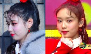 Sao Hàn lên sân khấu trông 'sương sương' nhưng makeup cả 'tạ phấn'