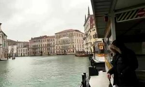 Venice vắng tanh vì nCoV