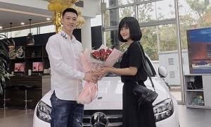 Bạn gái Huy Hùng tậu xế gần 2 tỷ đồng
