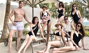 'Hội mỹ nhân sang chảnh' đọ dáng với dress code đồ tắm