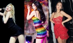4 mỹ nhân Kpop 'sinh ra để mặc váy bó sát'