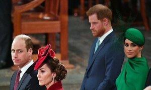 Wiliiam - Kate bị tố 'phớt lờ' vợ chồng Harry