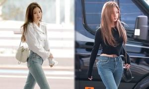 Những idol diện quần jeans đẹp nhất Kpop