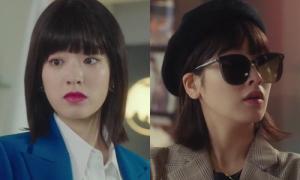 Mỹ nhân 'Itaewon Class' chứng minh 'con gái vén tóc là tăng nhan sắc'