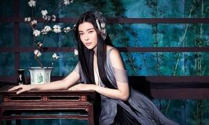 Cao Thái Hà hóa mỹ nhân cổ trang