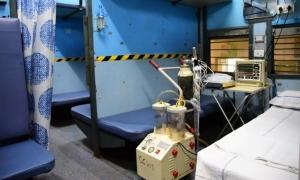 Ấn Độ biến tàu hỏa thành bệnh viện dã chiến