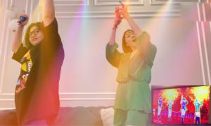 Diệu Nhi mở liveshow, vũ trường tại gia khi cách ly xã hội