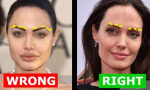 Mẹo chọn dáng lông mày hợp khuôn mặt