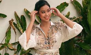 Hot girl Tiên Nguyễn rạng rỡ sau khi khỏi bệnh