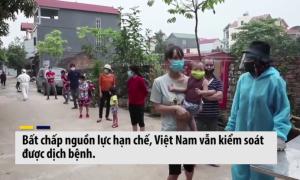 Việt Nam được khen trên báo nước ngoài về nỗ lực chống dịch