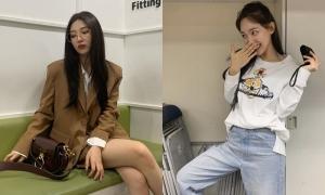 Những set đồ đời thường đơn giản mà đẹp của mỹ nhân Kpop
