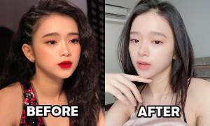 Linh Ka không còn bị chê 'chín ép' từ khi đổi kiểu makeup