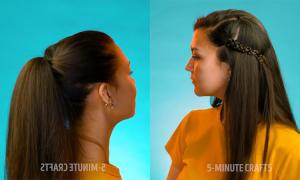 8 kiểu tóc đơn giản tránh luộm thuộm khi ở nhà