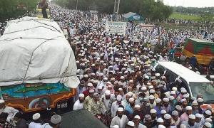 100.000 người Bangladesh dự đám tang thủ lĩnh giữa đại dịch