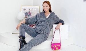 Chiếc túi hot trend hè này được loạt sao Hàn lăng xê