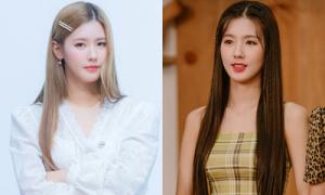 Mi Yeon (G)I-DLE diện váy áo giá rẻ vẫn sang chuẩn tiểu thư