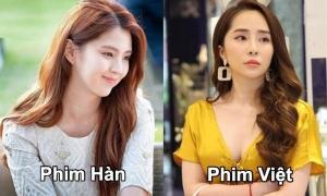 Phong cách khác biệt của 'tiểu tam' trong phim Hàn và Việt