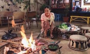 Midu tự nấu ăn, làm vườn trong 3 tuần ở Đà Lạt