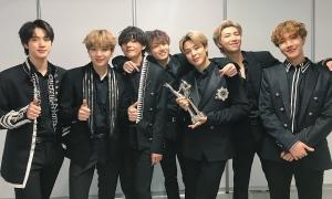BTS soán ngôi Black Pink trong top 40 sao quyền lực