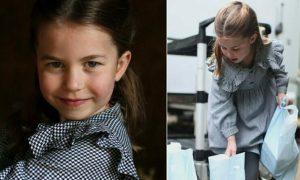 Công chúa Charlotte tặng quà cho mọi người nhân dịp sinh nhật