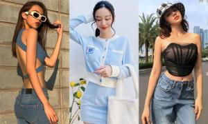 Sao Việt 'bung lụa' đủ kiểu street style tuần qua