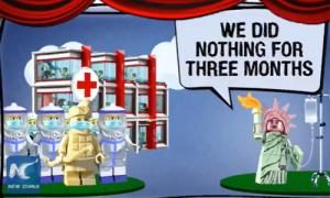 Trung Quốc chế nhạo Mỹ bằng phim hoạt hình