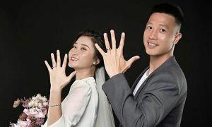 Huy Hùng khoe ảnh cưới