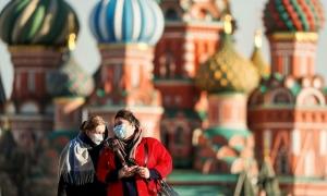 Nga vượt Pháp thành vùng dịch lớn thứ 5 thế giới