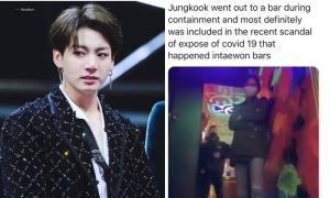 Jung Kook (BTS) bị đồn đến quán bar đồng tính tại Itaewon