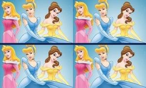 Luyện mắt tìm điểm khác biệt của các nhân vật Disney (2)