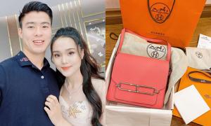 'Công chúa béo' Quỳnh Anh khoe túi Hermes hàng trăm triệu đồng