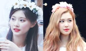 Những idol nữ đội vòng hoa đẹp tựa 'nữ thần'
