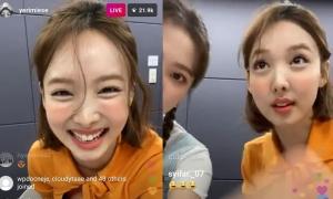 Na Yeon bị soi chiếc mũi 'kỳ quặc' trên livestream của Yeri