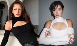 Mỹ nhân Việt đụng mốt áo 'gái hư' cắt xẻ tứ bề