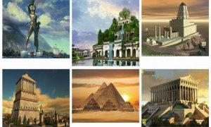 Bạn biết gì về các kỳ quan thế giới cổ đại?