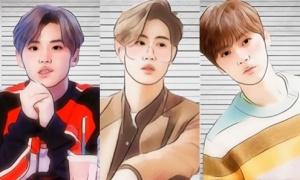 Bạn có nhận ra idol Hàn sau khi dùng app chỉnh ảnh?