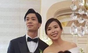 Hình ảnh hiếm hoi ở lễ đính hôn của Công Phượng - Viên Minh