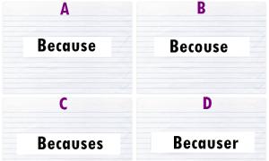 Không hoàn thành bài kiểm tra từ vựng này, bạn thua học sinh lớp 5