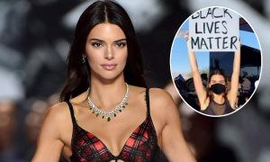 Kendall Jenner bị photoshop ảnh đi biểu tình