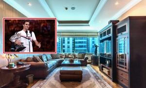 Penthouse 16 triệu USD của 'huyền thoại' Roger Federer