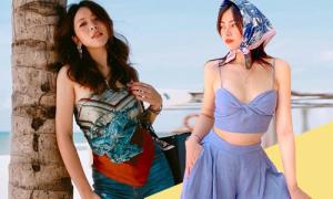 Mua gì, ở đâu: 4 kiểu đồ đi biển đúng mốt khi ngại mặc bikini